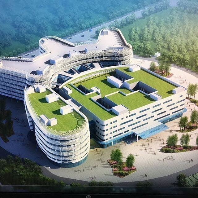 Inauguration of a hospital in China named after Professor Samii