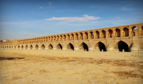 Dried-out river of Zayanderud threatening Isfahan's vitality