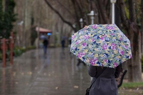 بارش ۲۴ میلی متر باران در خوانسار/هوا سردتر میشود