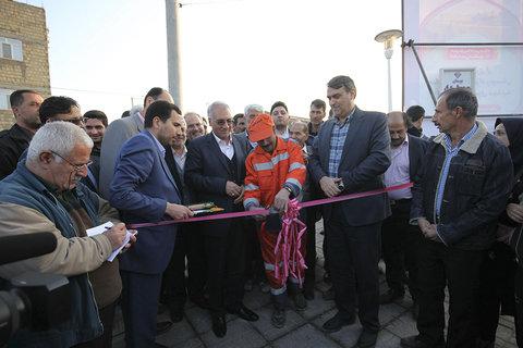 افتتاح ۵ پروژه عمرانی در منطقه ۱۲ اصفهان