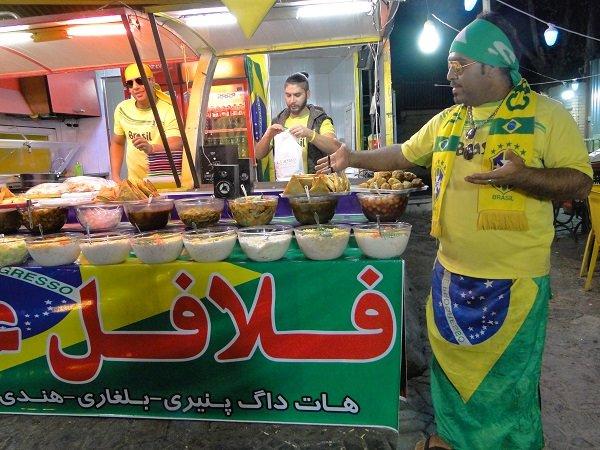 پیشرفت ۸۰ درصدی بازار جدید فلافل فروشان شاهین شهر