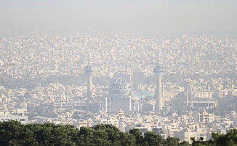 آلودگی هوا گریبانگیر اصفهان است