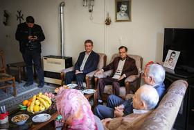 دیدار شهردار اصفهان با خانواده شهدای ارامنه همزمان با میلاد مسیح (ع)