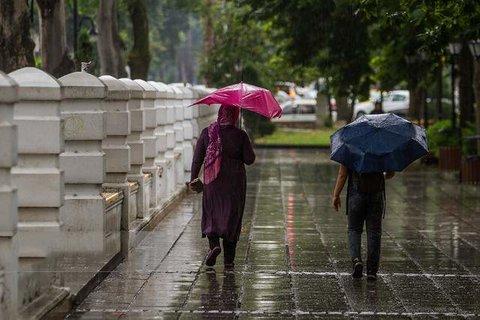 بارندگی ها تا فردا ادامه دارد