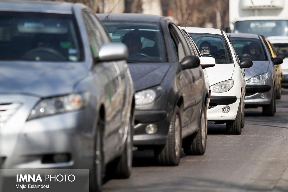 افزایش ۳۳ درصدی تردد خودروهای شخصی در شهر ارومیه