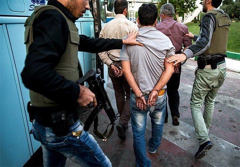 دستگیری خرده فروشان مواد مخدر و معتادان متجاهر در اصفهان