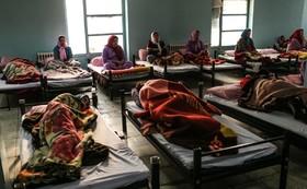 گرمخانه زنان کارتن خواب افتتاح می شود