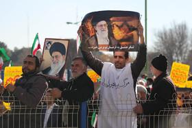 راهپیمایی مردم شهید پرور اصفهان، در محکومیت اغتشاشات اخیر