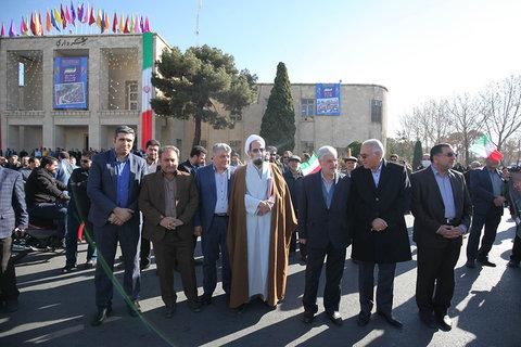 راهپیمایی مردم شهید پرورو اصفهان، در محکومیت اغتشاشات اخير