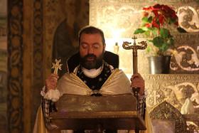 مراسم مذهبی سالروز ورود حضرت مسیح(ع) به کلیسا
