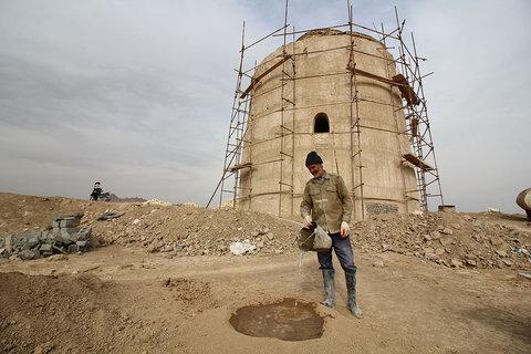 ساماندهی و احیای برج کبوتر محله کوجان