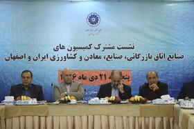 نشست مشترک کمیسیون صنایع اتاق بازرگانی ایران و اصفهان
