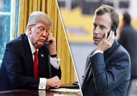 رییس جمهور فرانسه بر ضرورت پایبندی آمریکا به برجام تأکید کرد
