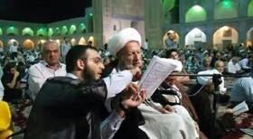 تشییع و خاکسپاری حجت الاسلام مظاهری در اصفهان