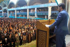 نماز عبادی سیاسی جمعه اصفهان