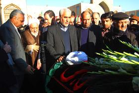 مراسم تشییع و خاکسپاری حجت الاسلام شیخ مهدی مظاهری