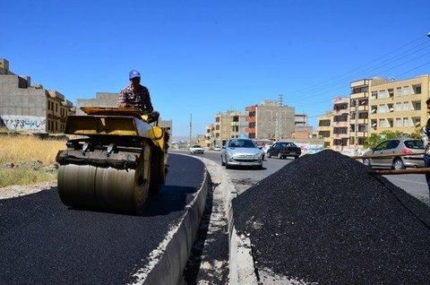 تکمیل زیرسازی و آسفالت خیابان حکیمصفایی تا ۲ ماه آینده