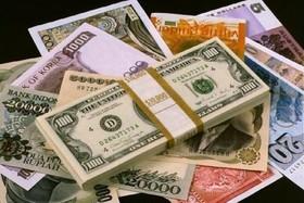 رشد ارزش ۳۱ ارز در بانک مرکزی