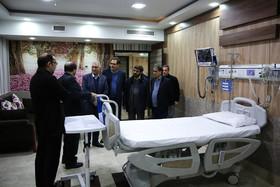 بازدید شهردار اصفهان از بیمارستان میلاد