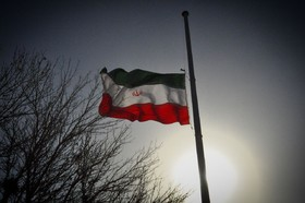 پرچمهای شهری اصفهان نیمه افراشته شد
