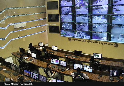 قفل ترافیک در تقاطع جهاد