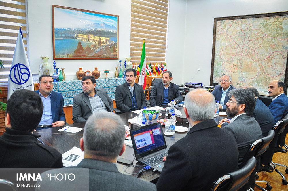 جلسات شهردار با مدیران شهری