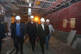 بازدید معاون عمرانی وزیر کشور از پروژه خط یک مترو
