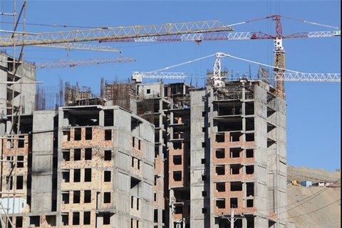 توقف بیش از ۱۰۰۰ پروژه ساختمانی در ۵ ماه نخست امسال