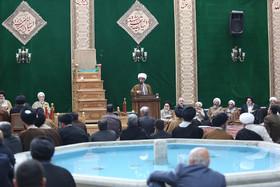دیدار شهردار و رییس شورای شهر اصفهان با جمعی از علما