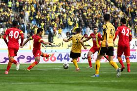 حسرت ۱۳۱۶ روزه سپاهان در پیروزی برابر فولاد خوزستان+ جدول