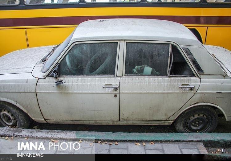 جمعآوری ۸۴۹ خودروی فرسوده رها شده در شهر اصفهان