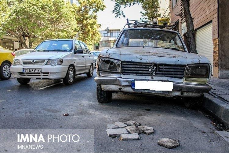 جمع آوری بیش از ۳۱۵ خودروی فرسوده از سطح شهر مشهد
