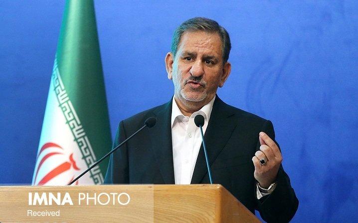 سخنرانی جهانگیری در اجلاس چهارم شورای عالی استانها