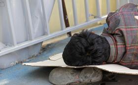 کارتن خوابی چالش جدی اصفهان در دو ماه گذشته بوده است