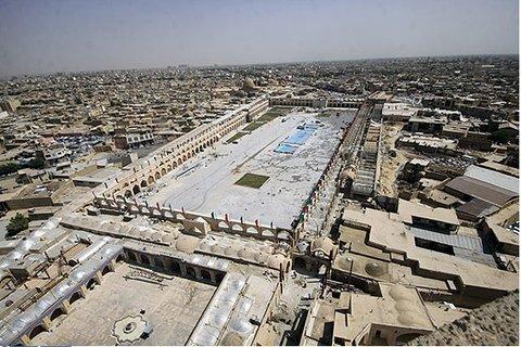 Economic prosperity to back in Imam Ali square
