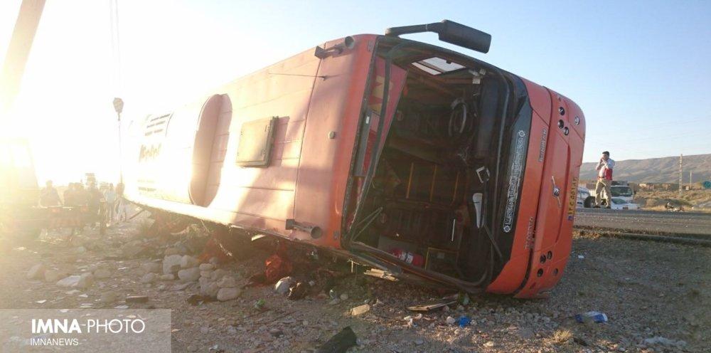 اسامی مصدومان و فوتیهای تصادف اتوبوس یزد به مشهد اعلام شد
