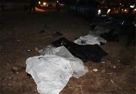 شناسایی هویت شش نفر از کشتهشدگان حادثه واژگونی اتوبوس در شاهینشهر