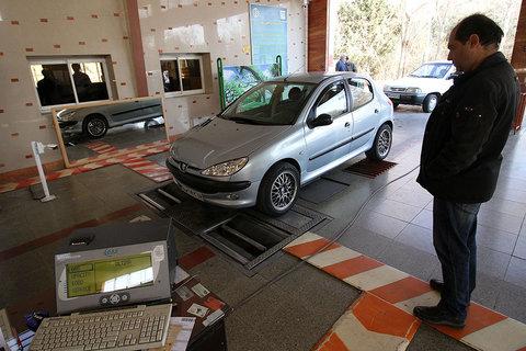 آلایندگی و نقص ترمز مهمترین ایراد فنی خودروهای قزوین