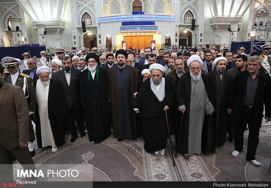 تجدید میثاق اعضای مجمع تشخیص مصلحت نظام با آرمان های امام راحل(ره)