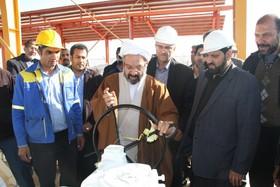 بهره برداری از پروژه خط انتقال تقلیل فشار گاز سجری