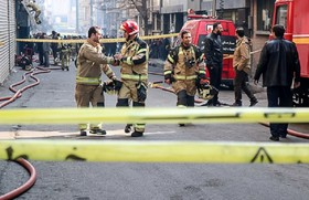 آتش ساختمان وزارت نیرو اطفا شد
