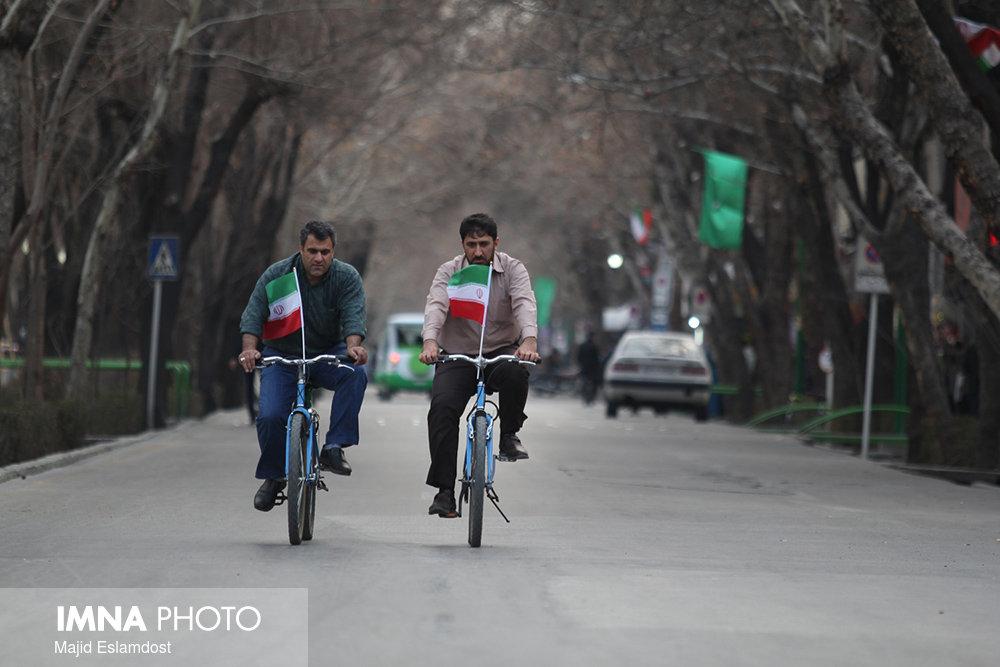 برگزاری همایش روز جهانی بدون خودرو در اصفهان