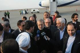 سفر لاریجانی به اصفهان برای گرامیداشت شهدای مدافع حرم