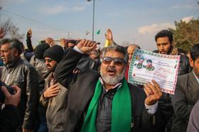 غبارروبی مزار شهدا و مراسم تشییع دو شهید مدافع حرم-نجف آباد