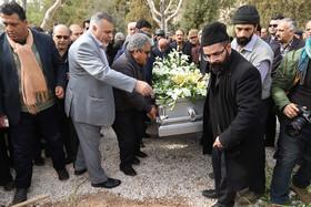 """مراسم تشییع و تدفین"""" جمشید مظاهری"""""""