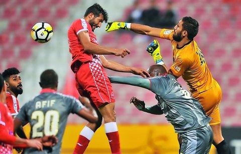 پیروزی ۵ گله حریف قطری ذوبآهن