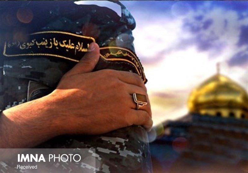 نصب یادمان شهدای مدافع حرم در شهر رفسنجان