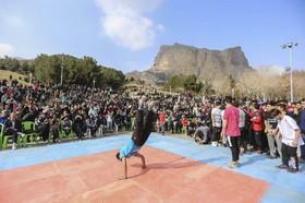 کوه صفه در جشن پیروزی انقلاب میزبان ورزشکاران شد