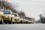 راهپیمایی و رژه تاکسیها بمناسبت 22بهمن در نجف آباد