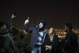 جشن پیروزی انقلاب اسلامی در کوه صفه اصفهان
